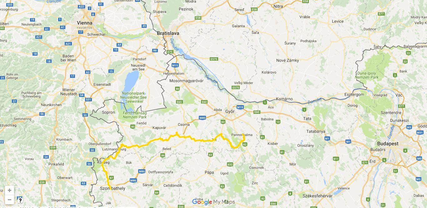 ungarischer Martinusweg - die Strecke, Pilgern Sie mit uns!