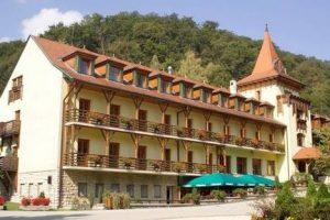 Bakony Hotel, unsere 1. Unterkunft auf dem Marienweg I.