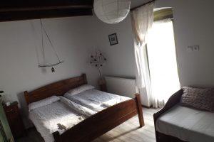 Gasthaus in Zirc - unsere 2. Unterkunft auf dem Marienweg