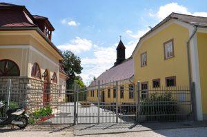 Gästehaus von Salesianer Don Bosco - auf dem Marienweg (Ungarn-Strecke)