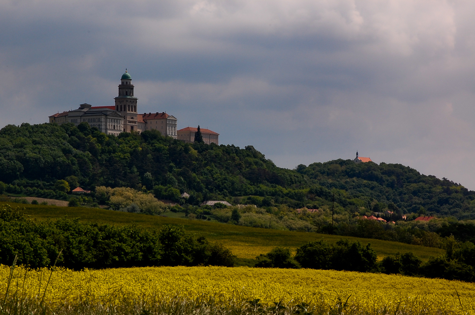 Pannonhalma Benedictine Abbey on St Martin's Hill