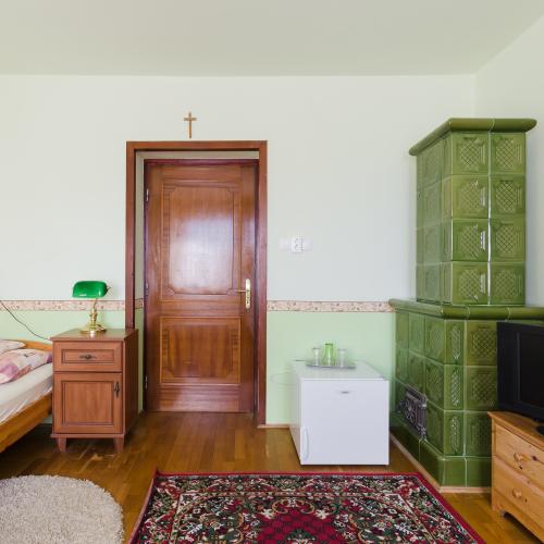 unsere Unterkunft in Pannonhalma, nicht weit von der Abtei(UNESCO)