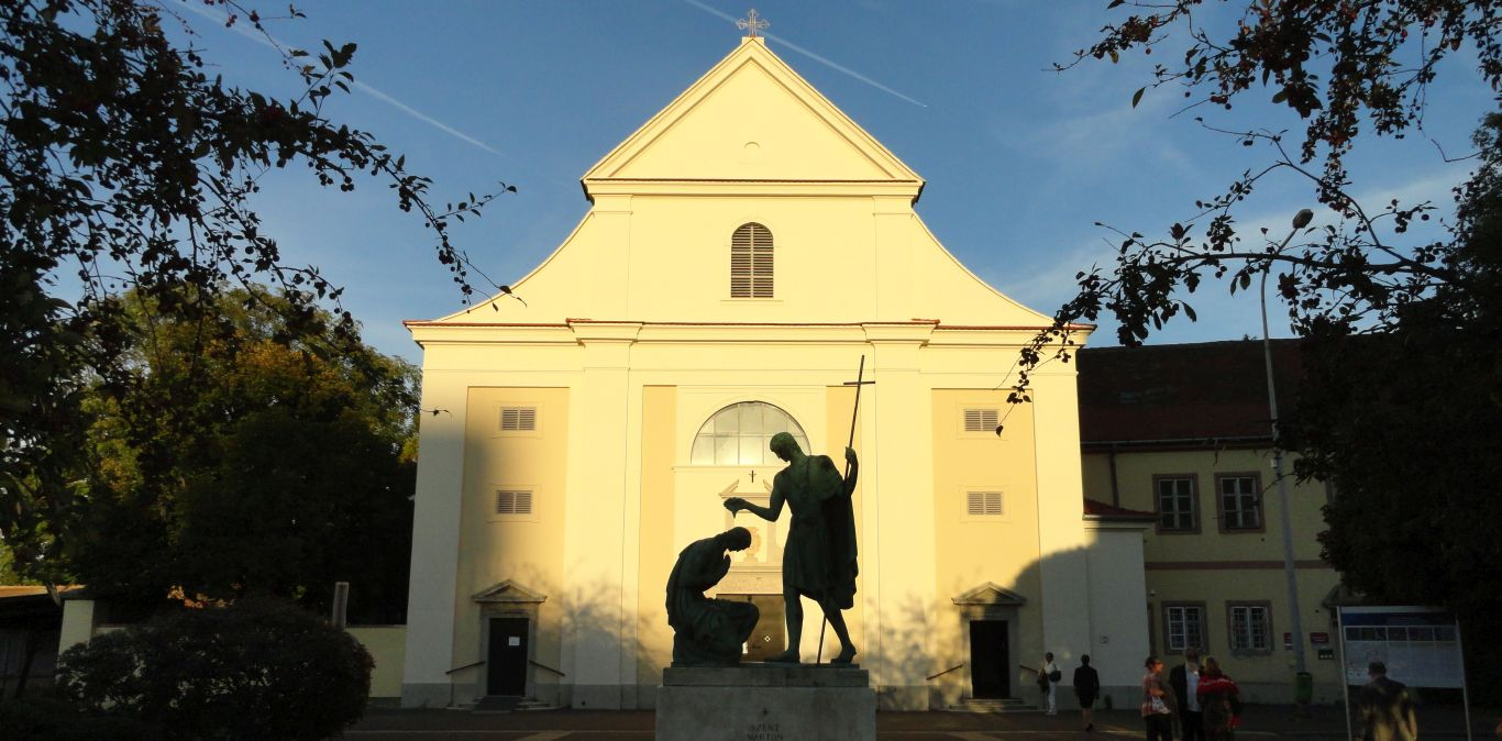 St. Martinus Kirche in Szombathely - via sancti martini/Pilgern Sie mit uns in Ungarn!