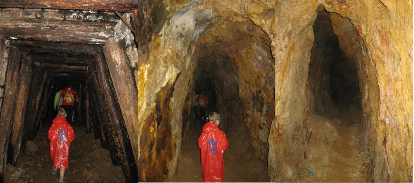 Medieval gold mine