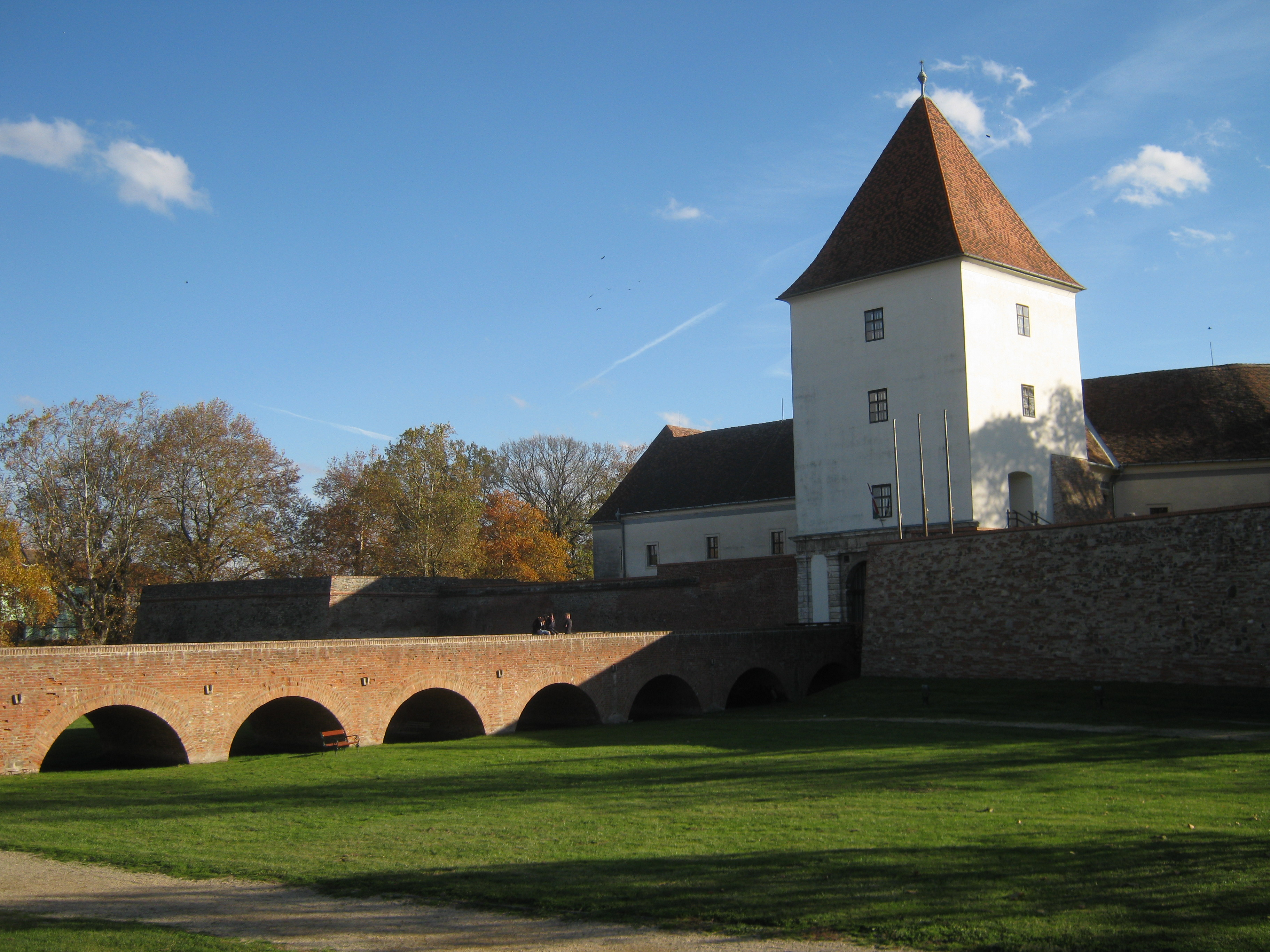Castle of Elizabeth Báthory: Sárvár