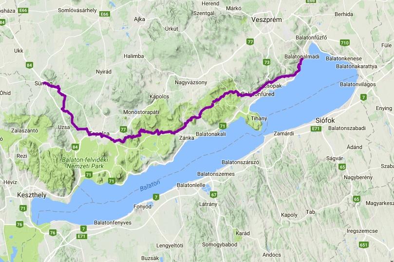 balaton mária térkép Mária Út a Balaton felvidéken • Pannon PilgrimPannon Pilgrim balaton mária térkép