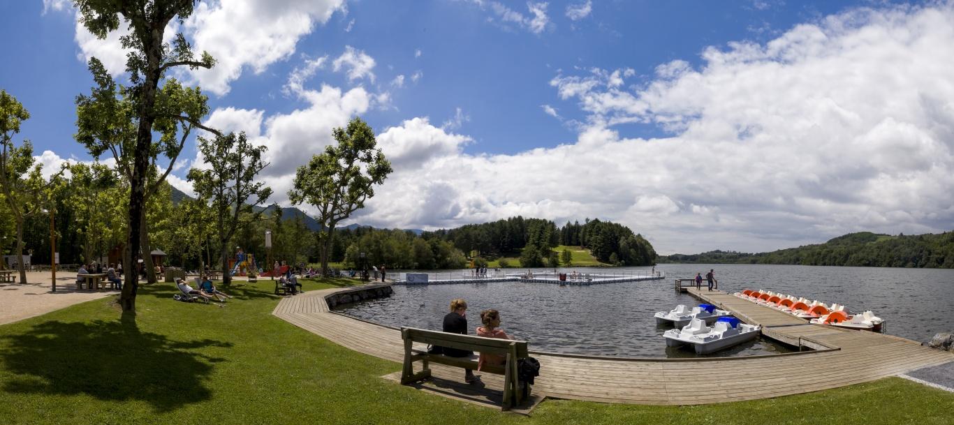 Lac de Lourdes - kirándulás a lourdes-i tóhoz